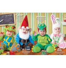 Costume Carnevale Ranocchio per Bambino Incharacter 0-4 anni