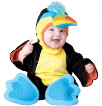 Costume Carnevale Tucano per Bambino Incharacter 0-24 mesi