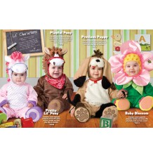 Incharacter Carnival Baby Costume Playful Pony 0-24 months