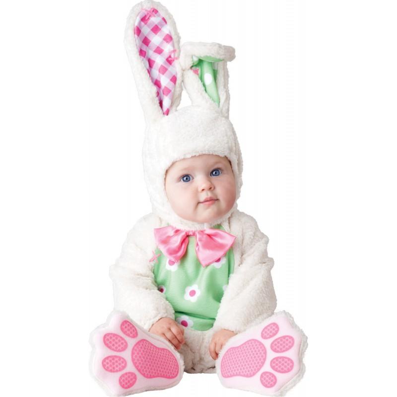 Costume Carnevale Incharacter Baby Bunny per Bambina 0-24 mesi