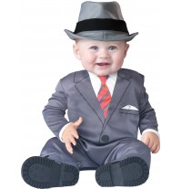 Incharacter Costume Carnevale Baby Business per Bambini 0 - 24M