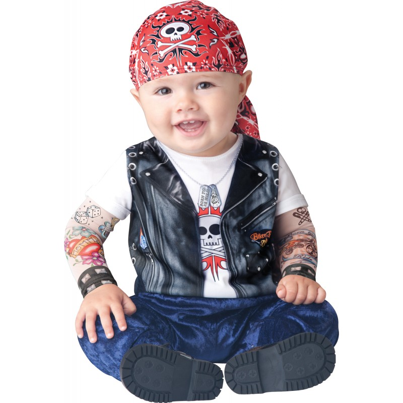 Incharacter Costume de Carnaval Enfant Born To Be Wild 0-6 mois