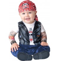 Incharacter Costume de Carnaval Enfant Born To Be Wild 0-24 mois