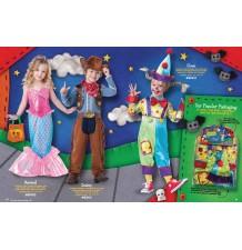 Costume Carnevale Sirena per bambina Incharacter 2-4 anni