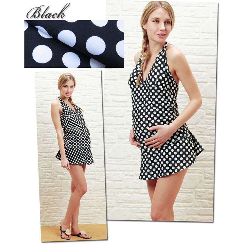 Maternity and Nursing Tankini Swimsuit