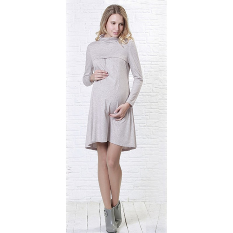 Simple Turtle Maternity and Nursing Dress