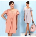 Short Sleeve Maternity And Nursing Dress
