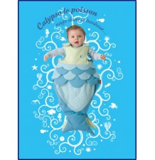 "Baby Sleeping Bag ""Little Fish"""