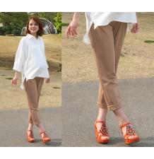 Pantalon Grossesse à Tour de taille réglable