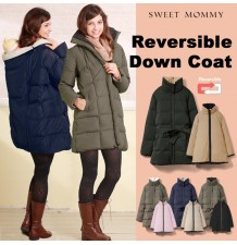 Double Face Duvet Mother Coat