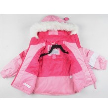 Baby Girl Snowsuit Ski Dress 18 Monthes - 6 years Pink