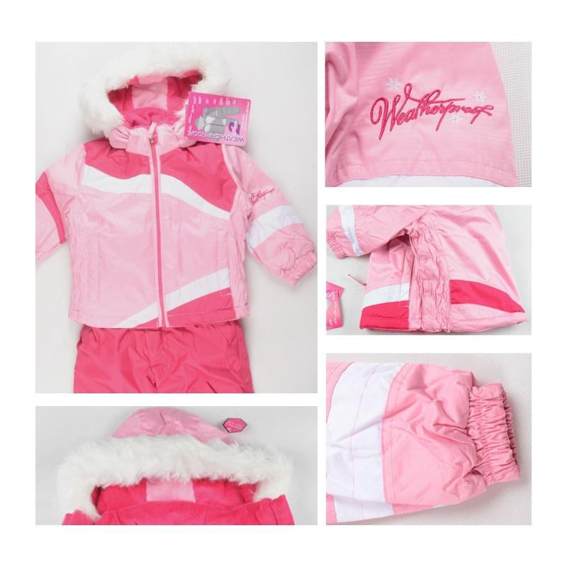 le migliori scarpe bello e affascinante colori e suggestivi Tuta da sci rosa per bambini | SWEET MOMMY