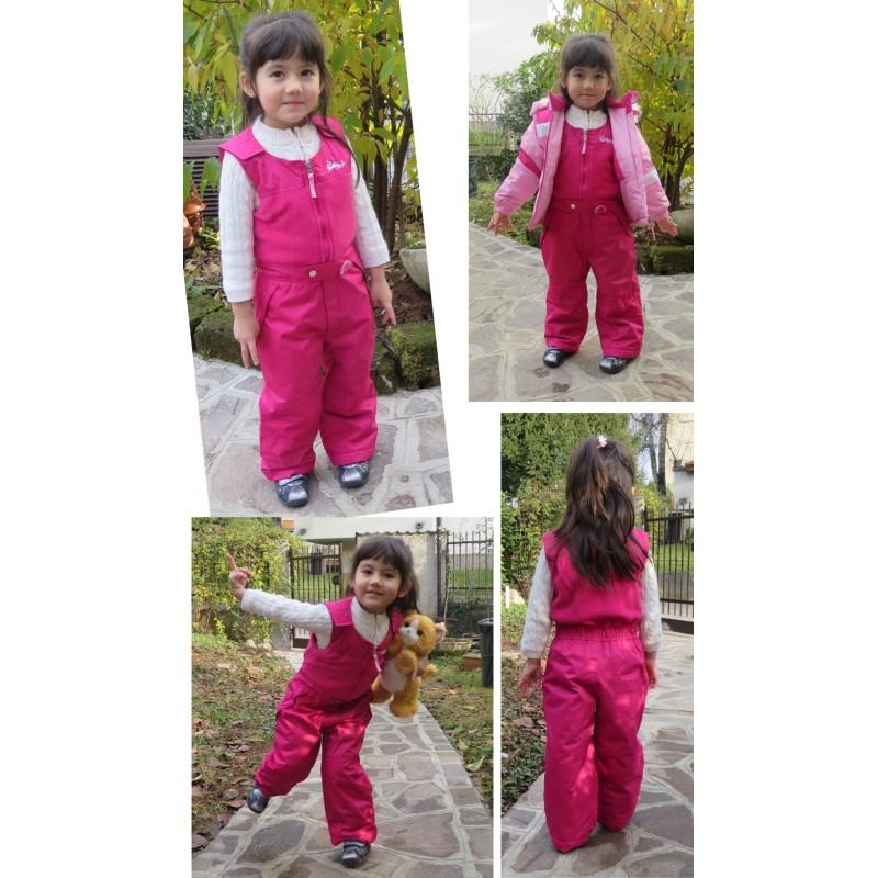 comprare in vendita design moderno migliore qualità per Tuta da sci rosa per bambini | SWEET MOMMY
