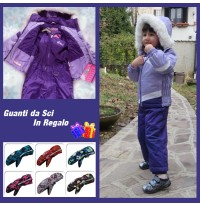 Unisex Baby Snowsuit Ski Dress 2 - 6 years Violet