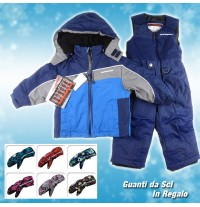Baby Boy Snowsuit Ski Dress 4 -6 years Blue