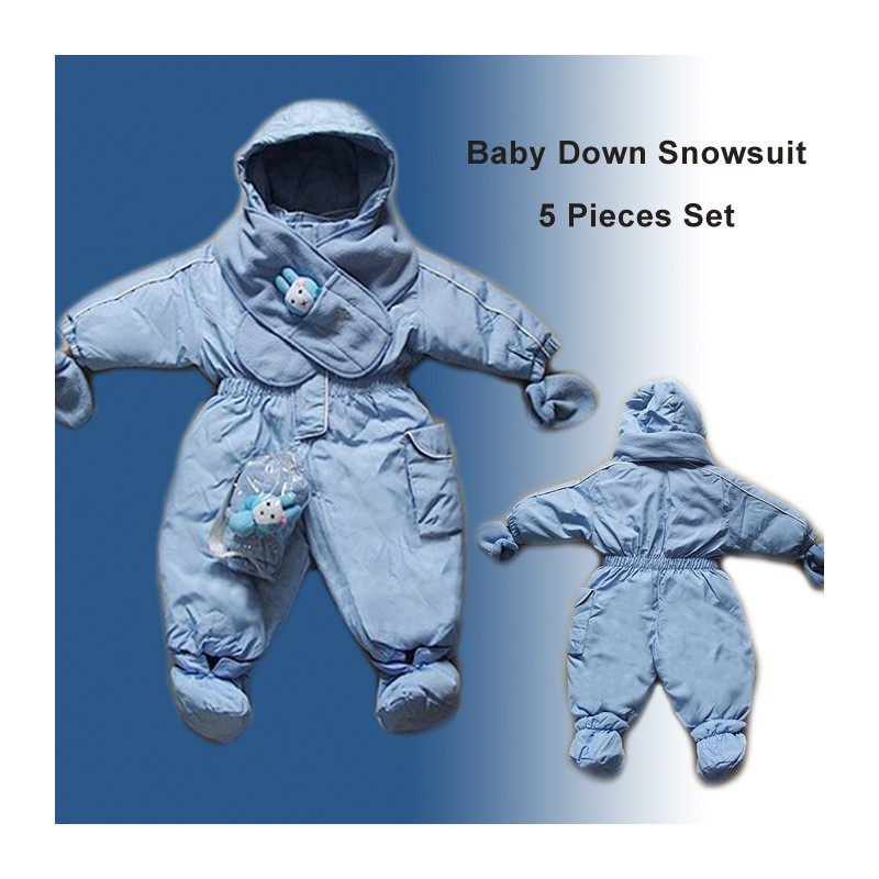 Kids' Five Pieces Down Snowsuit