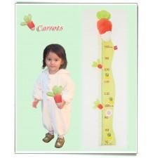 Baby Height Meter model Magic Vegetable Garden