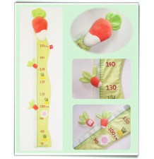 Baby Height Meter model Magic Vegetable Garden