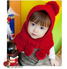 Red Christmas Cape for Kids