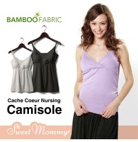 Bamboo Fabric Nursing Camisole