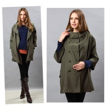 Removable lining parka mothercoat