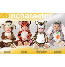 Costume Carnevale Tigrotto per Bambino Incharacter 0-24 mesi