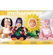 Costume Carnevale Maialina per Bambina Incharacter 0-12 mesi