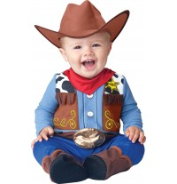 Incharacter Costume de Carnaval Enfant Cow-boy 0-24 mois