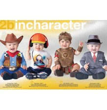 Incharacter Costume de Carnaval Enfant Cow-boy 6-18 mois