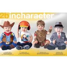 Costume Carnevale Gladiatore per bambino Incharacter 0-24 mesi