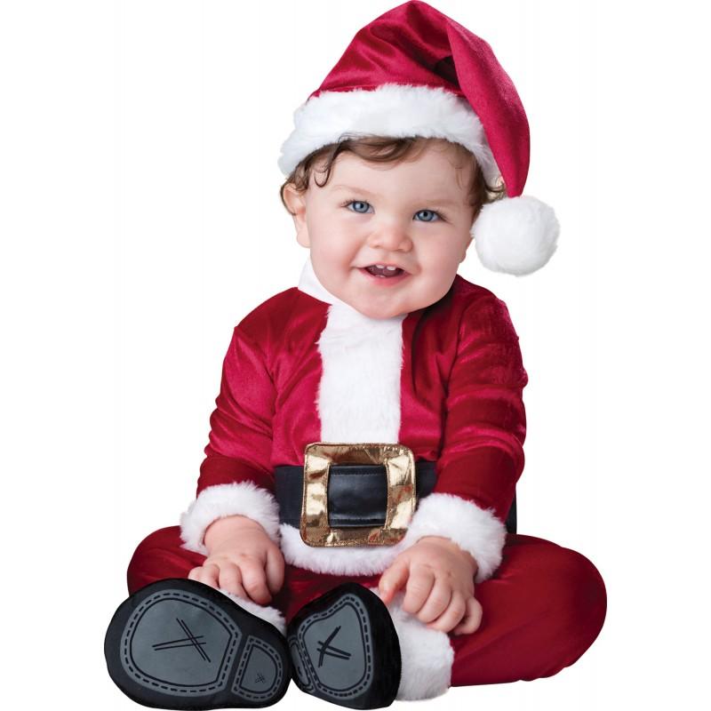 Costume da Babbo Natale per bambino Incharacter 0-24 mesi
