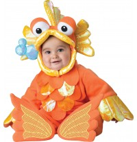 Incharacter Carnival Baby Costume Giggly Goldfish 12-24 months