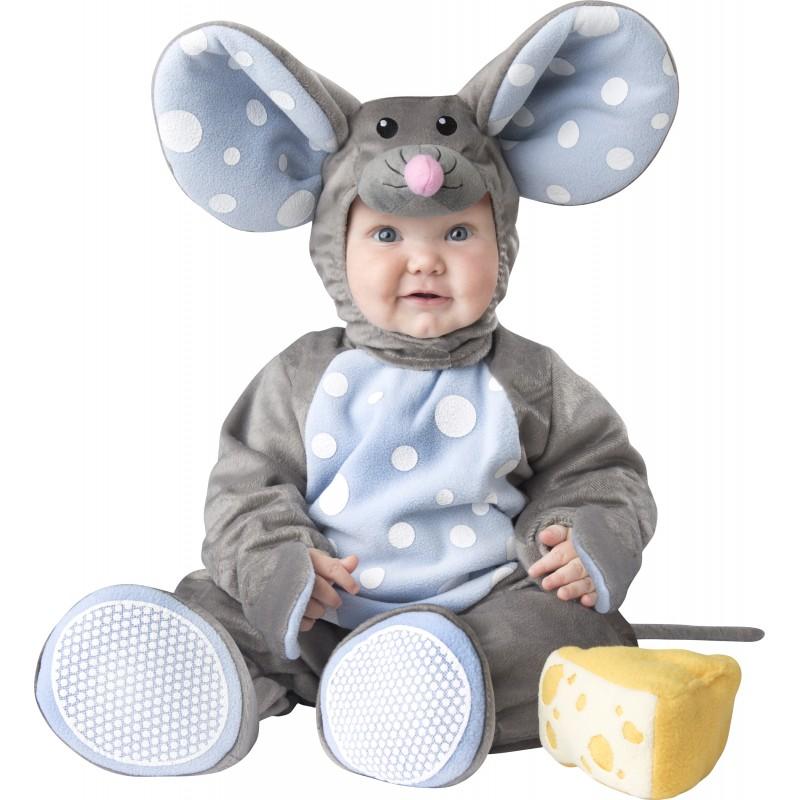 Incharacter Costume de Carnaval Enfant Petite Souris 0-24 mois