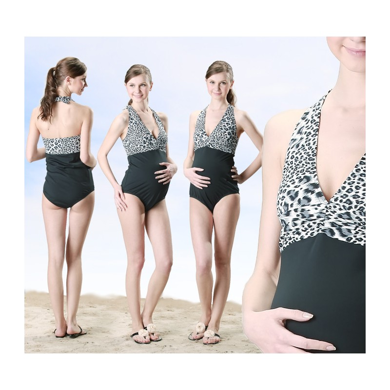 One Piece Maternity Nursing Swimsuit