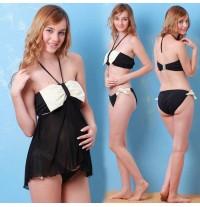 Maillot de Bain de grossesse Tankini Bikinis Transformable