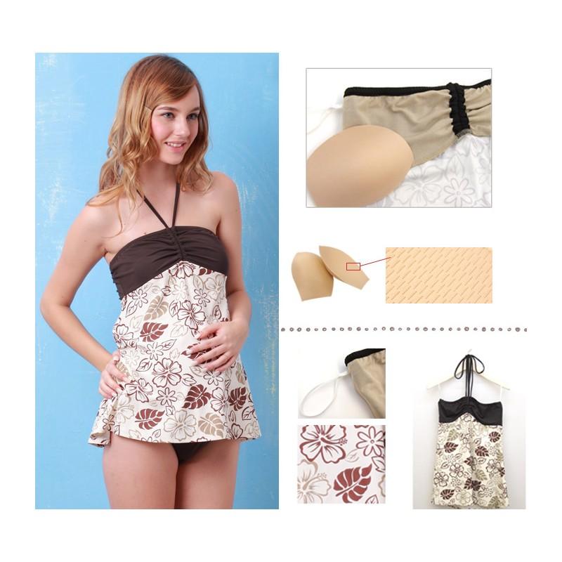 Maillot de bain 1 pièce de grossesse ou maillot de bain 2 pièces de maternité, le choix est vaste pour les futures mamans! Grâce à IDKIDS, elles dévoilent fièrement leur joli ventre. Celui-ci est mis en valeur par les maillots de bain de maternité.