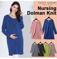 Maternity Nursing Tunic Dress