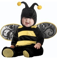 Costume Carnevale Vespa per Bambino Incharacter 0-24 mesi