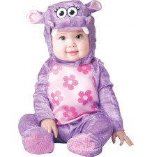 Huggable Hippo Incharacter 0-24M Baby Carnival Costume