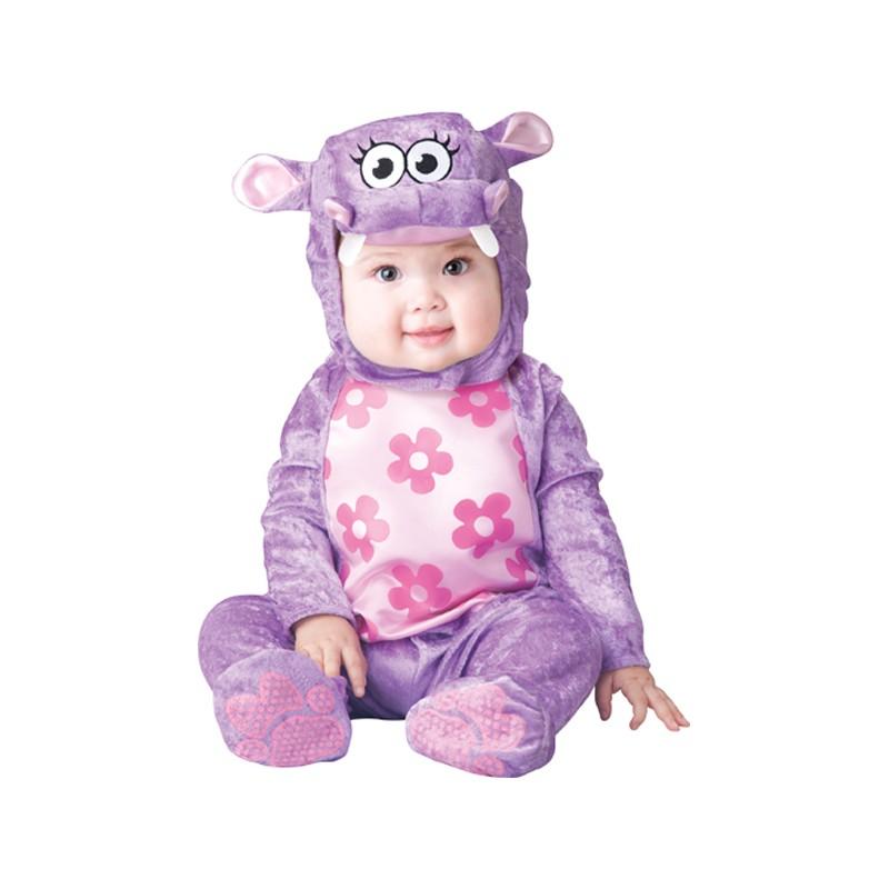 Huggable Hippo Incharacter 0-24M Baby Carnival Costume
