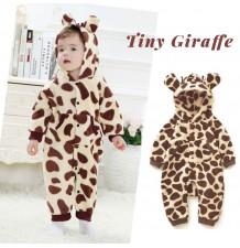 Barboteuse/costume de carnaval girafe pour petits enfants