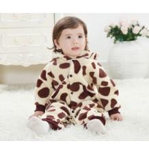 Tutina Costume di carnevale da giraffa per bambino e bambina