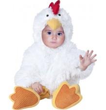 Costume Carnevale Pulcino per Bambino 4M-2T