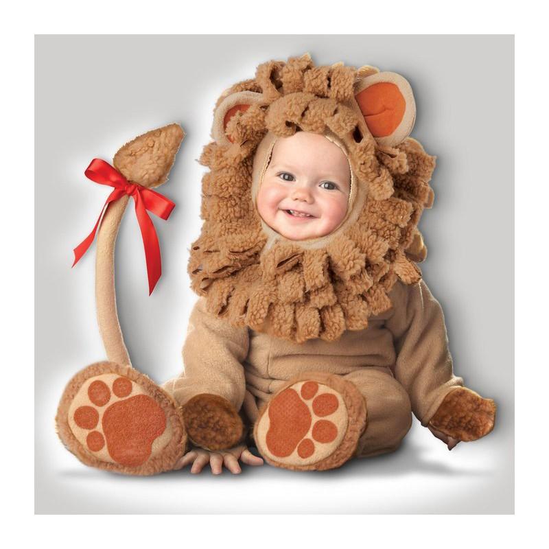 prezzo più economico seleziona per il più recente miglior valore Costume Carnevale Leoncino Leone Bambino Incharacter 0-4 anni