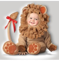 Costume Carnevale Leoncino Leone Bambino Incharacter 0-4 anni