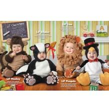 Costume Carnevale Leoncino per Bambino Incharacter 0-4 anni