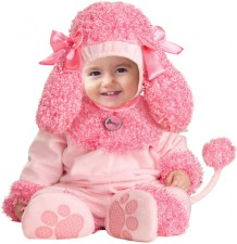 Carnival Baby Costume Little Pink poodle 4M-2T