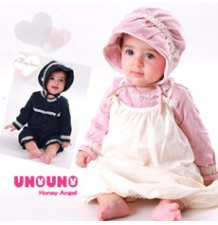 Elegant Organic Cotton 3 Pieces Baby Set