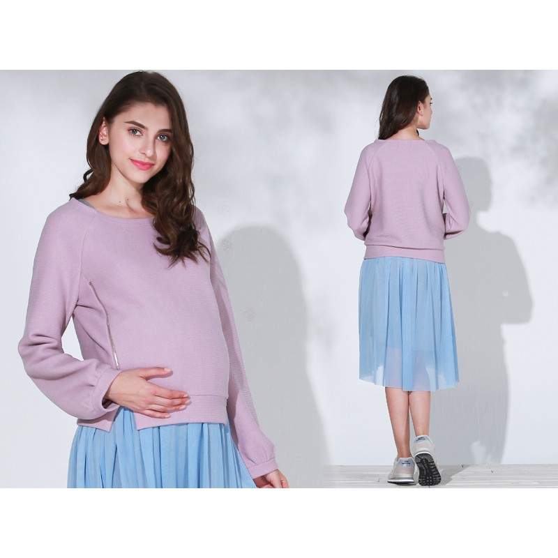 6e1ddcde88 Maternity and nursing sweater