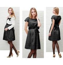 Jacquard Maternity and Nursing Formal Dress